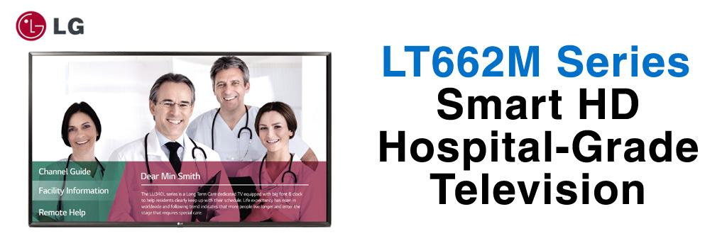LT662M Series HD Hospital Grade Smart TV