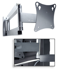 Articulating LCD Wall Arm
